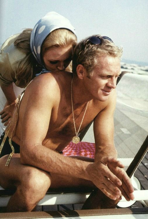 Steve McQueen & Faye Dunaway from The Thomas Crown Affair (1968)