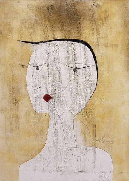 Sealed woman paul klee woman and artist for Buy art posters online