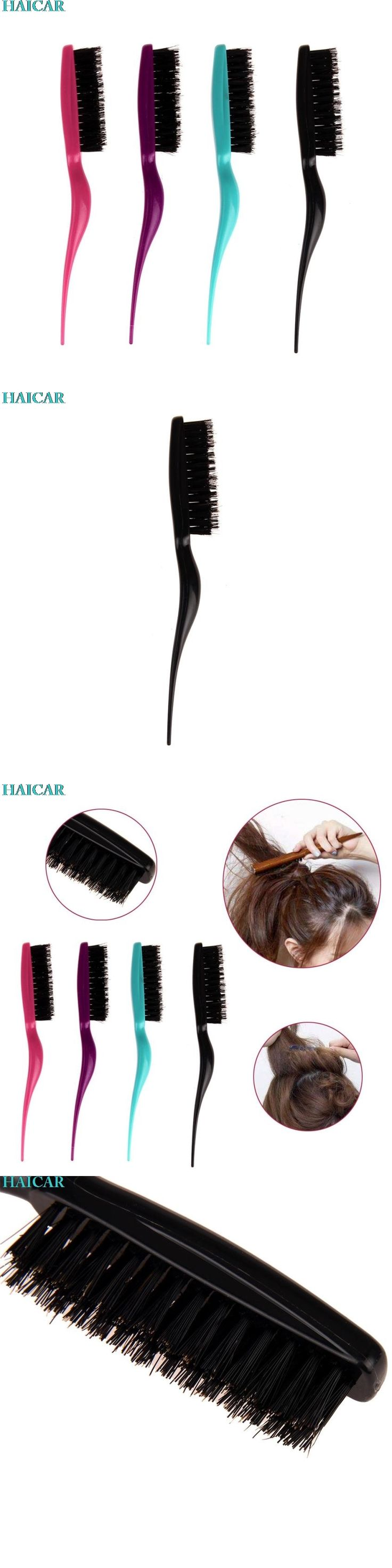 1PC Plastic Modeling Comb Fight Combs Brush Plate Hair Salon Supplies Hair Styling Tool Levert Dropship mar10