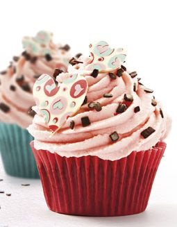 Callebaut - Cupcake di San Valentino
