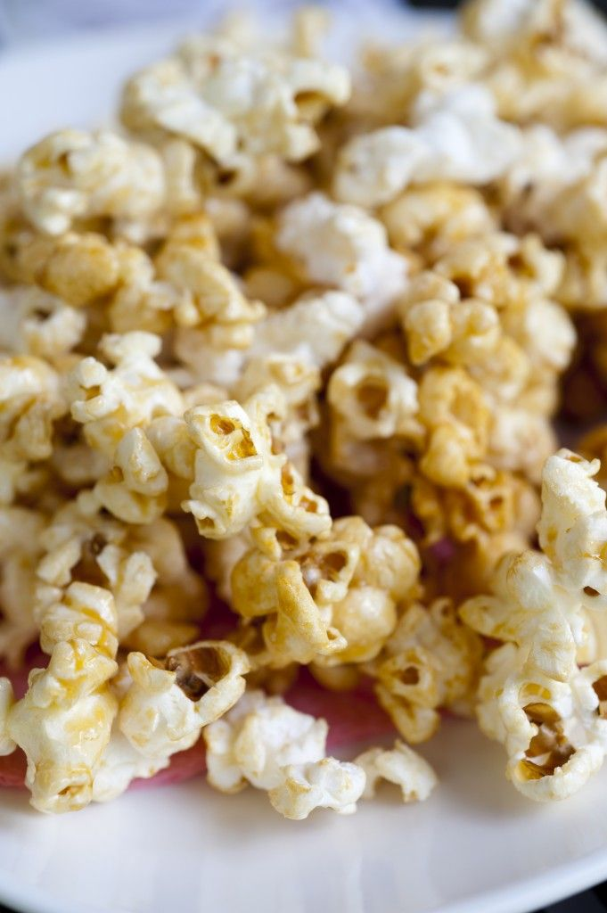 Easy Caramel Popcorn made with marshmallows?