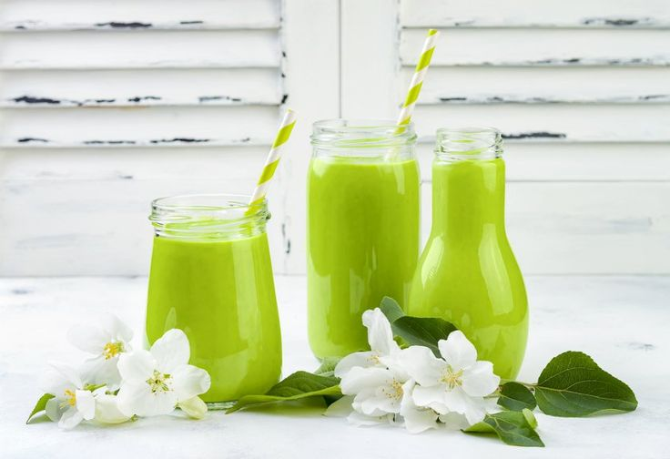 Smoothie Hijau, Minuman Sehat Pembangkit Tenaga