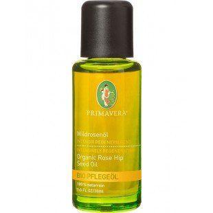 Wildrosenöl* bio, 30 ml von Primavera Wildrosenöl* bio ist eine Kostbarkeit aus der Natur. Es ist ein sehr guter Helfer für die trockene Haut, da es Feuchtigkeit spendet und zellerneuernde Wirkung hat. Es regeneriert trockene, schuppige Haut und ist besonders wirksam in der Narbenpflege. Zudem vermag es die Fältchen um die Augenpartie und bei frühzeitiger Hautalterung die Linien auszugleichen und Pigmentflecken aufzuhellen.