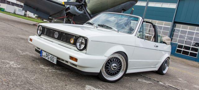 Kennzeichen PG: Diesem VW Golf Cabrio sieht man an, was drinsteckt!