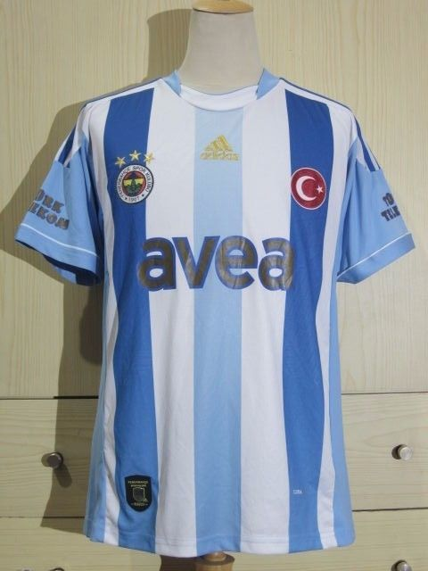 FENERBAHCE SK 2012 ADIDAS AWAY TURKEY SUPER LIG FOOTBALL SOCCER JERSEY SHIRT M   | eBay