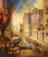 Венецианские мелодии. (2013 г) 60х50 (холст/масло)