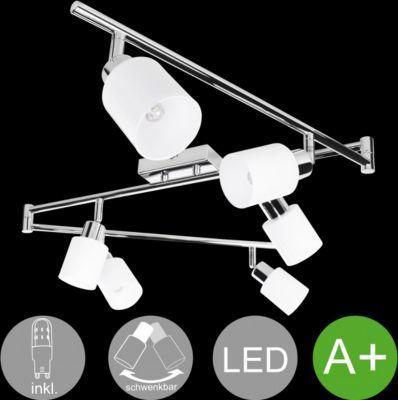 Wohnling WOHNLING 6-flammiger LED-Strahler Warmweiß EEK A+ inkl. 6x3 Watt Leuchtmittel | Drehbare Deckenlampe IP20 Fassung G9 LED Diele Flur | Deckenleuchte Spots Wohnzimmer Schlafzimmer Esszimmer Jetzt bestellen unter: https://moebel.ladendirekt.de/lampen/deckenleuchten/deckenlampen/?uid=1328d631-d17f-5e0f-960f-b39c404902b8&utm_source=pinterest&utm_medium=pin&utm_campaign=boards #deckenleuchten #heim #lampen #deckenlampen