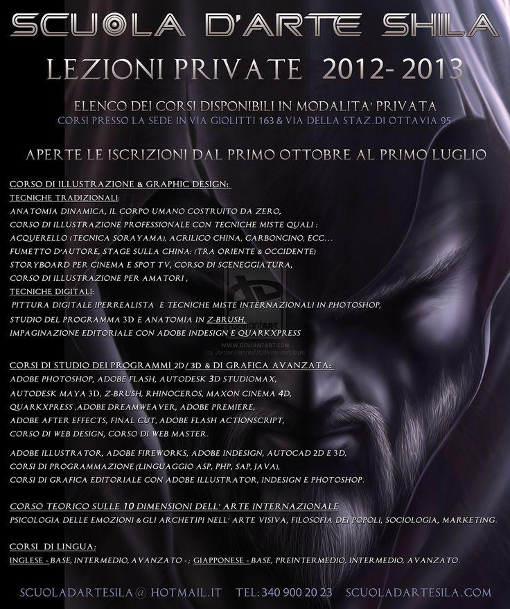 ELENCO CORSI INDIVIDUALI 2012-2013 by JordanNennaArt.deviantart.com on @deviantART