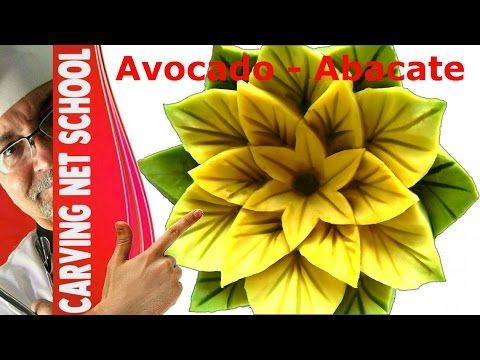 ♛ Lesson 44, Fruit & veg Carving, Escultura em frutas e legumes, การแกะสลักผลไม้, 水果雕刻, Ukiran buah - YouTube