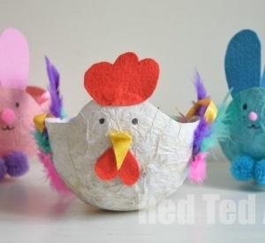 Kids Craft: Easter Baskets