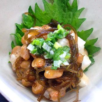 海藻レシピ もずく納豆 カネリョウ海藻株式会社