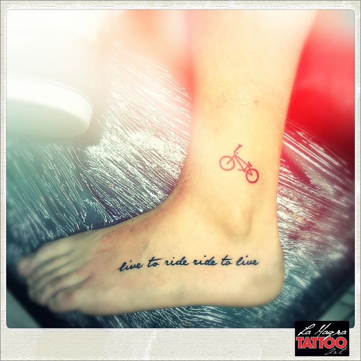 #bicycle #tattoo #lamagratattoo