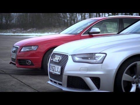 Audi S4 v Audi RS4. Does Supercharging Rule? - CHRIS HARRIS ON CARS - YouTube
