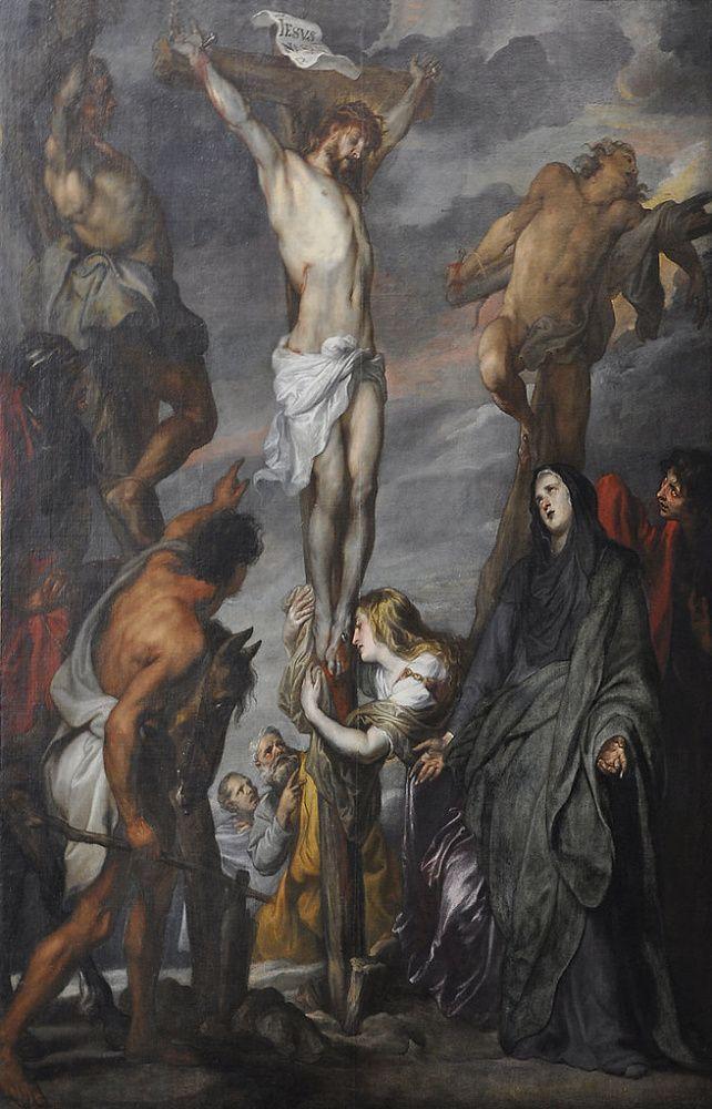 Антонис ван Дейк. Христос на кресте. Христос на кресте Антонис ван Дейк 1620-е