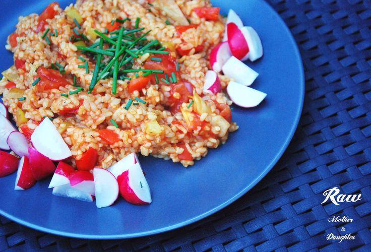 Ďalší z receptov vhodných pre všetkých vegánov a Raw Till 4 vegánov. Vegánske karí rizoto.