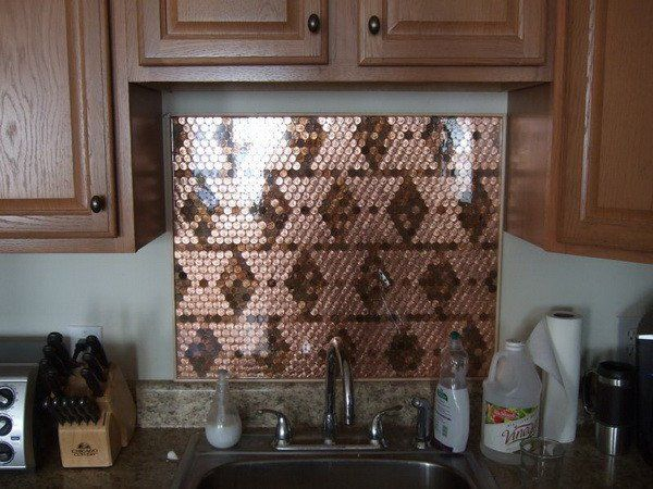 Have you been wanting to add a backsplash to your kitchen but just haven't found one you really like? Make one yourself with pennies! We needed a unique kitchen backsplash so we created ours with a total of 1558 pennies. Tile was a little bit expensive so we decided to make it with good old … … Continue reading →