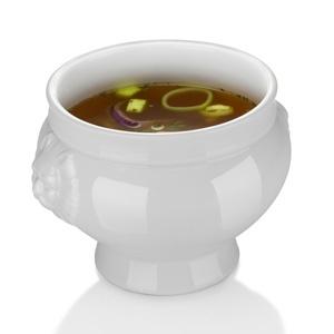 Bol pentru supa cu capacitatea de 500ml. Este realizat din cel mai dur portelan, rezistent la uzura si modificari de temperatura de pana la 600°C.