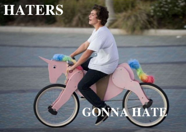 Ride on!: Gonna Hate, Unicorns Bike, Hate Gonna, Riding A Bike, Bicycles, Funny Pictures, Ponies, Things, Kid