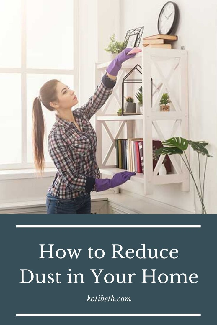 How To Reduce Dust In Your Home Cleaning Hacks House Cleaning Tips Cleaning Painted Walls