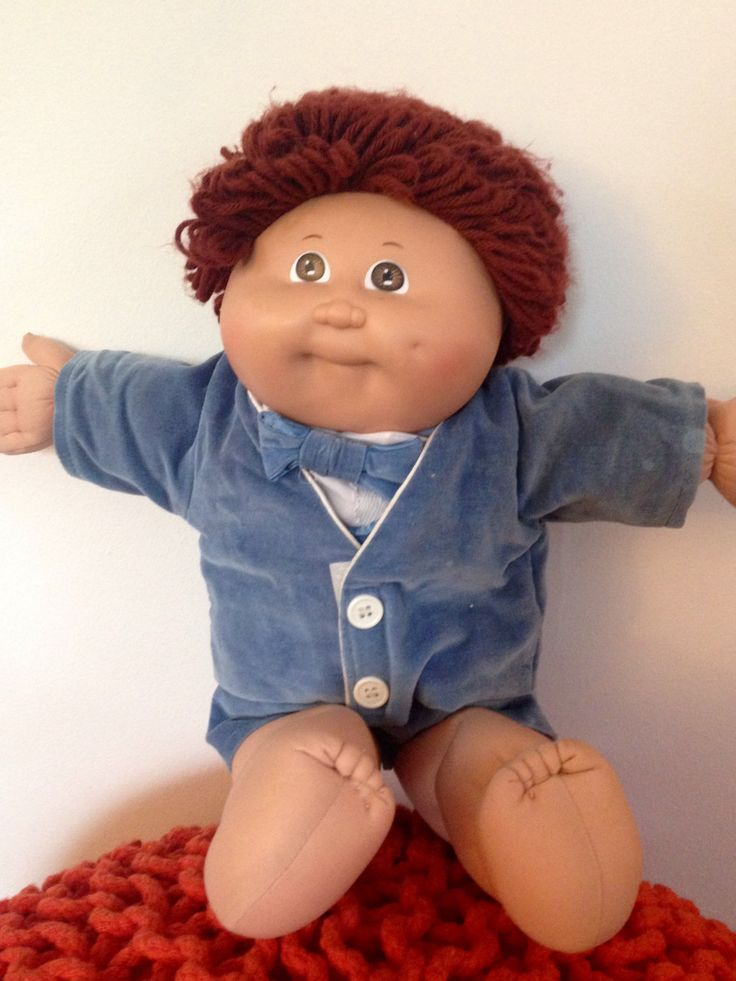 1985 Cabbage Patch Kid Brown Haired, Brown Eyed Boy, CPK, Coleco CPK Doll, Cabbage Patch Doll, Cabbage Patch Kids, Vintage CPK doll by Lalecreations on Etsy