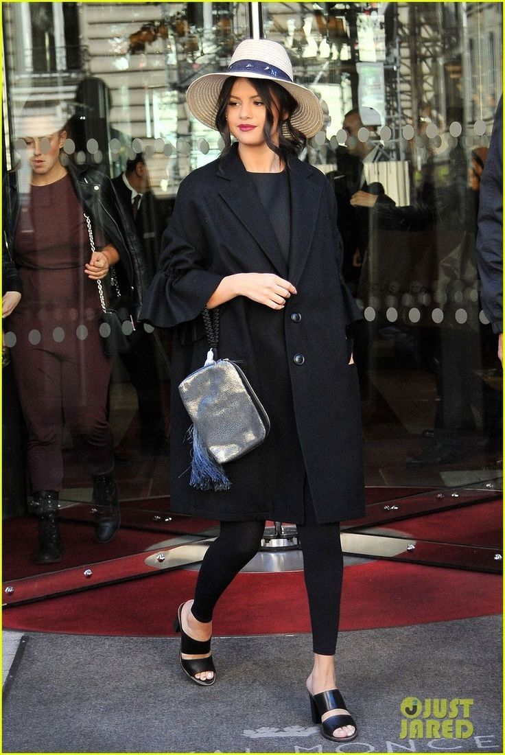 Selena Gomez Continues Her 'Revival' Promo Tour! | selena gomez steps out in paris 05 - Photo - Selena Gomez Style