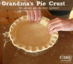 Great pie crust, worked well