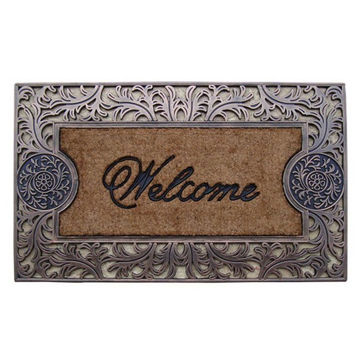 First Impression Natural Outdoor Brush Doormat - A1HOME200031