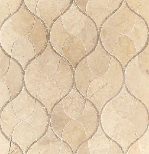 Walker zanger sonja magdalina pattern mesh mounted for Walker zanger