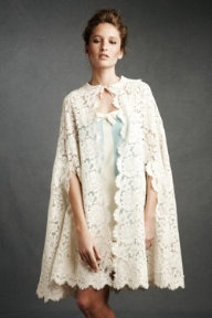 gorgeous duchess lace cape