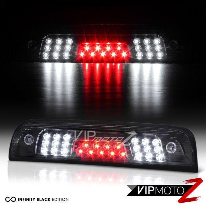 2014-2016 GMC Sierra Chevy Silverado 1500 2500 3500 Black LED Third Brake Lights #VIPMOTOZ