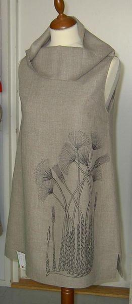 / linen tunic