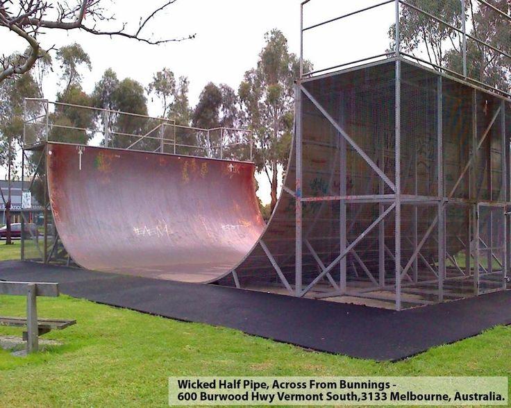 Wicked Halfpipe in Melbourne Halfpipe in Australia ...
