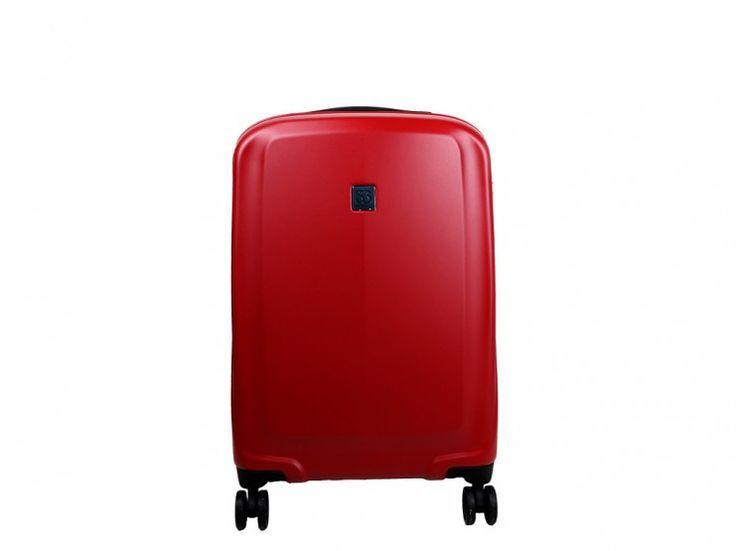 Maleta Roja para cabina http://www.salvadorbachiller.com/tienda/maletas/rigidas/roger/trolley-4-ruedas-roger-pc082-rojo-50cms