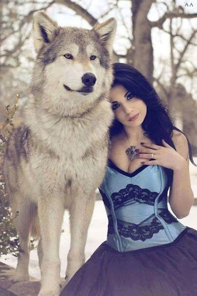 Yes, this is my wolf no you can't touch him, look at him, or have him! He's MINE!