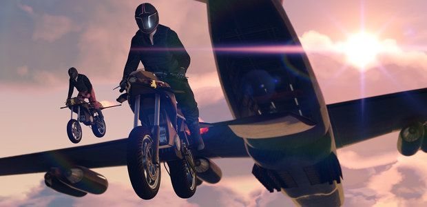 GTA Online's Gunrunning update delivers Megaforce bike