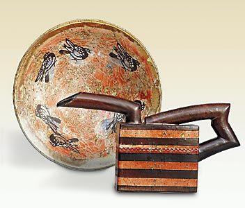 Uwe & Helga Krause - Uwe : Grès, pièces uniques modelées & tournées. Sculptures.  Helga : Pièces utilitaires tournées, façonnées, décorées....