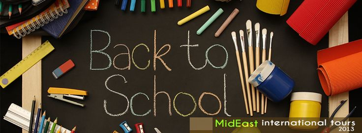 Back to school ---> MidEast Travel!!!
