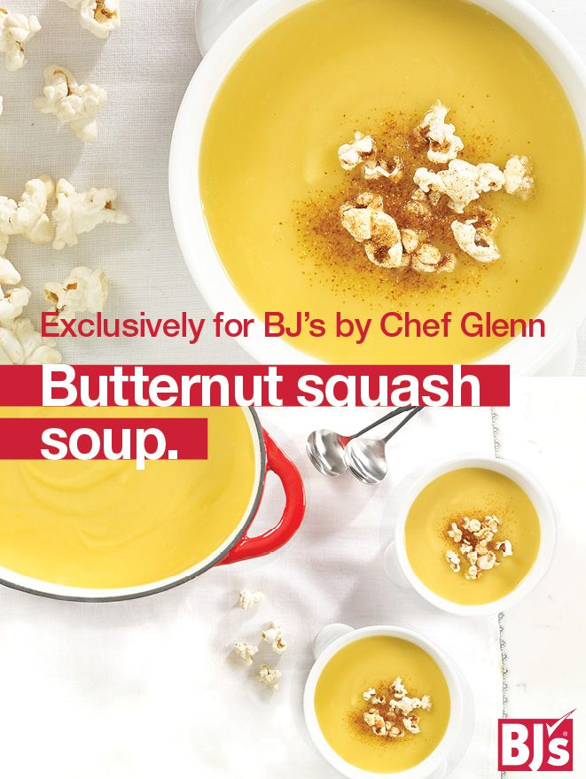 Butternut Soup Recipe - Make a simple and elegant soup for your holiday menu. Uses precut butternut squash and Idaho potatoes.http://stocked.bjs.com/food/butternut-squash-and-potato-soup