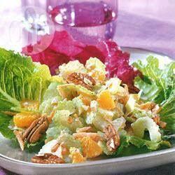 Salada de cenoura e aipo ao molho de cream cheese @ allrecipes.com.br