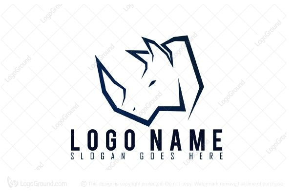 Logo for sale: Rhino Strenght Logo