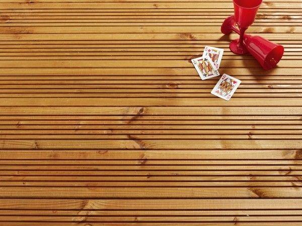 Lame de terrasse rainurée Lavezzi 28mm - #Lames #bois - #Terrasses #bois #Cocooning #Modernité