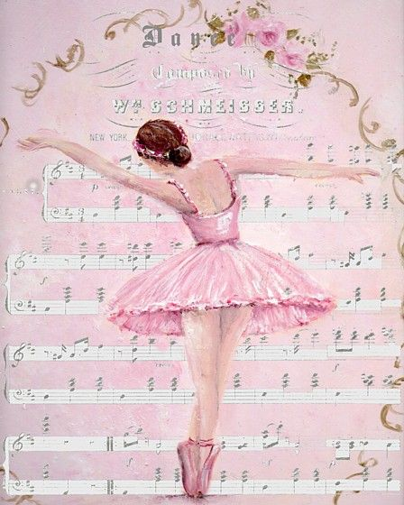 Ready to Frame Print - Dance - Postage is included Worldwide