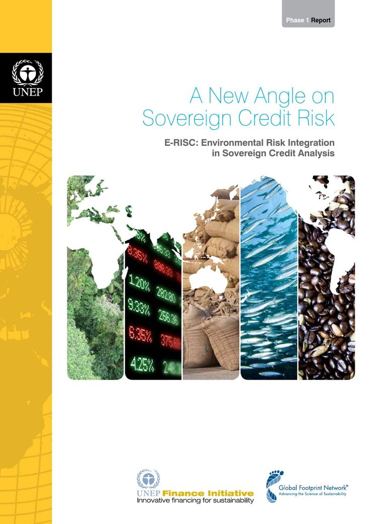 ISSUU - E-RISC: Environmental Risk Integration in Sovereign Credit Analysis par Global Footprint Network