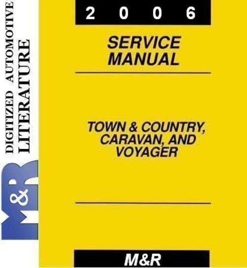 2006 Voyager , Grand Voyager By Chrysler Service Manual - Download...