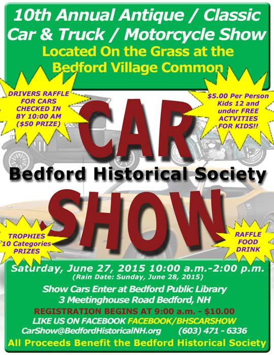 Best Antique Classic Car And Truck Motorcycle Show Images On - Nh car show bedford