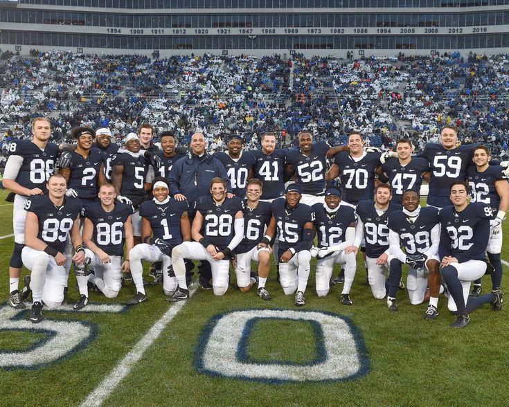 Senior Class 2017. Penn State FOREVER.