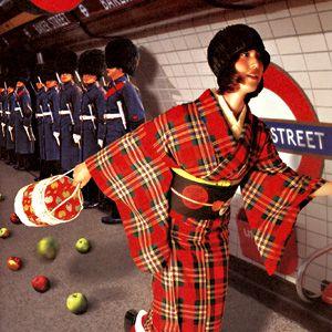 Tartan kimono! (Yes, I know!)