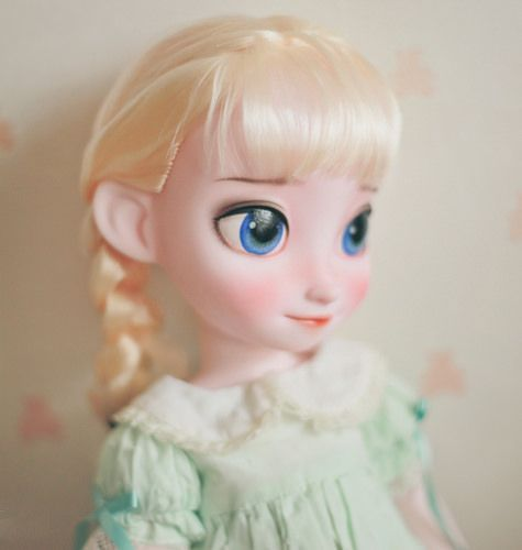 Repaint Disney Animators Collection Frozen Elsa
