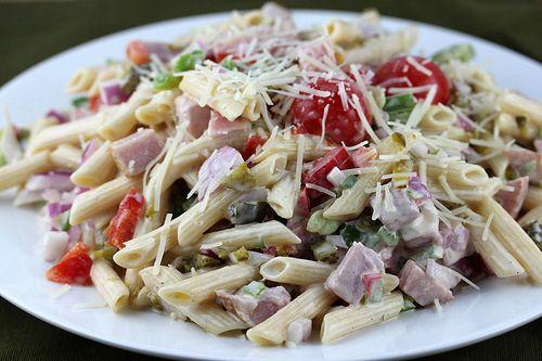 Ham Pasta Salad Recipe [the Blog Chef]