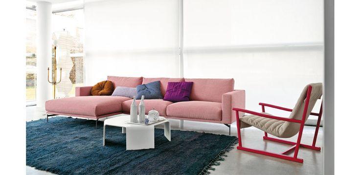Color y diseño de sabor retro para un salón moderno alegre y joven.
